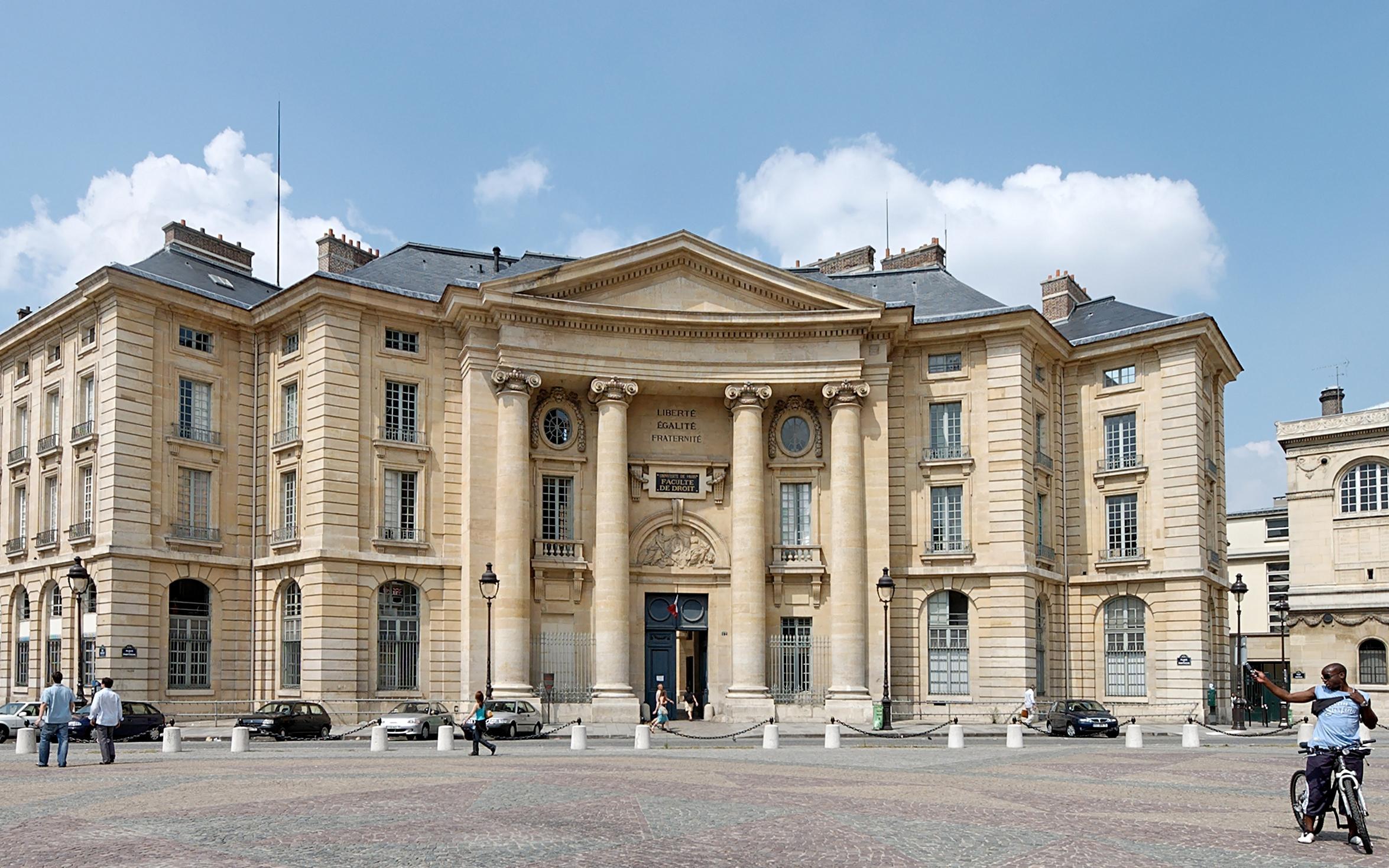 Kết quả hình ảnh cho Đại học Panthéon-Sorbonne (Paris I)
